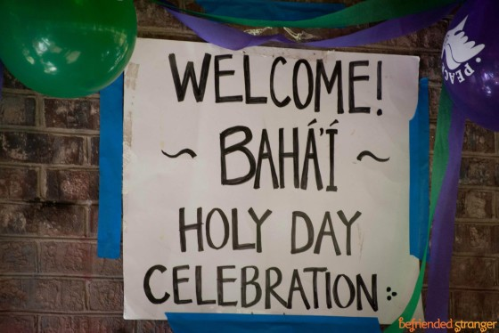 Annual Birth of the Bab Celebration - Sunday, Oct. 20 - Cherry Hill Park, Falls Church, VA